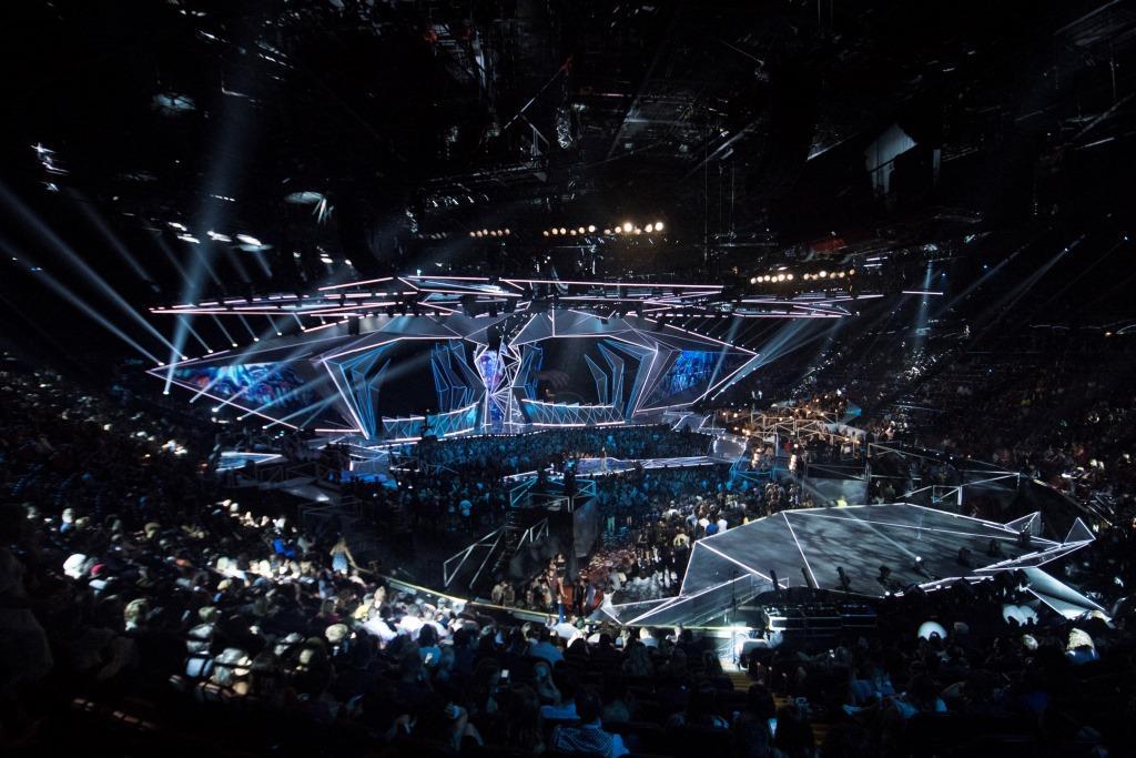 Bühnenimpressionen 36. MTV VMA