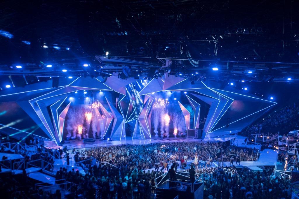 Bühnenimpression 36. MTV VMA