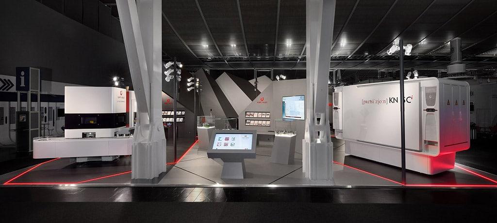 Atelier Seitz inszenierte den Messestand von Kapp Niles auf der EMO 2017