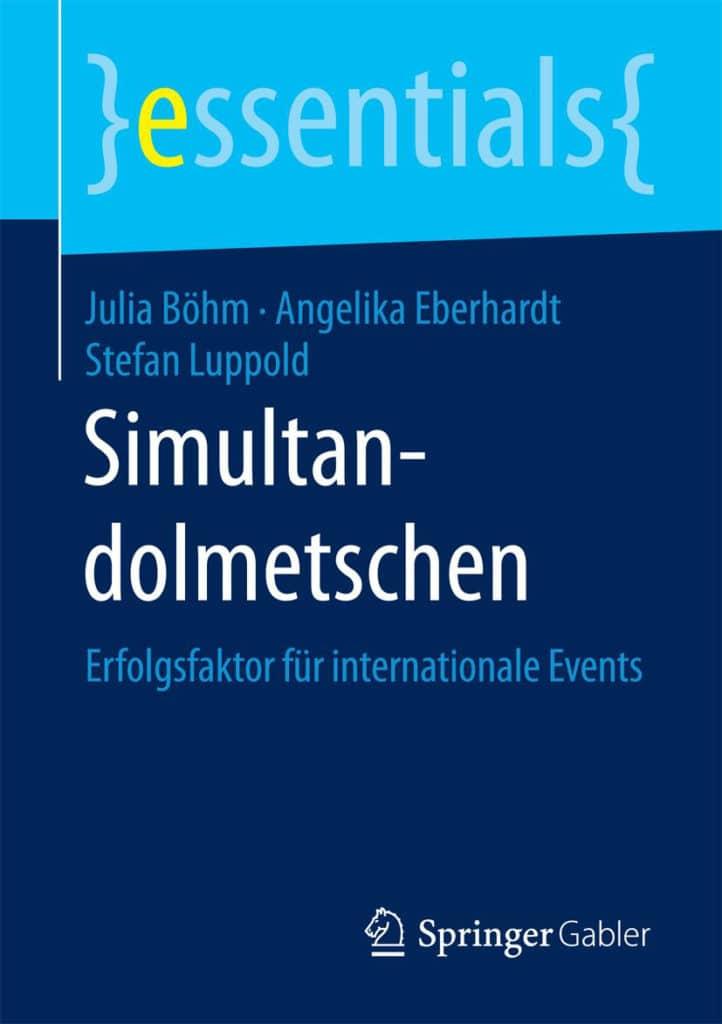 """""""Simultandolmetschen"""" aus dem Springer Fachmedien Verlag"""