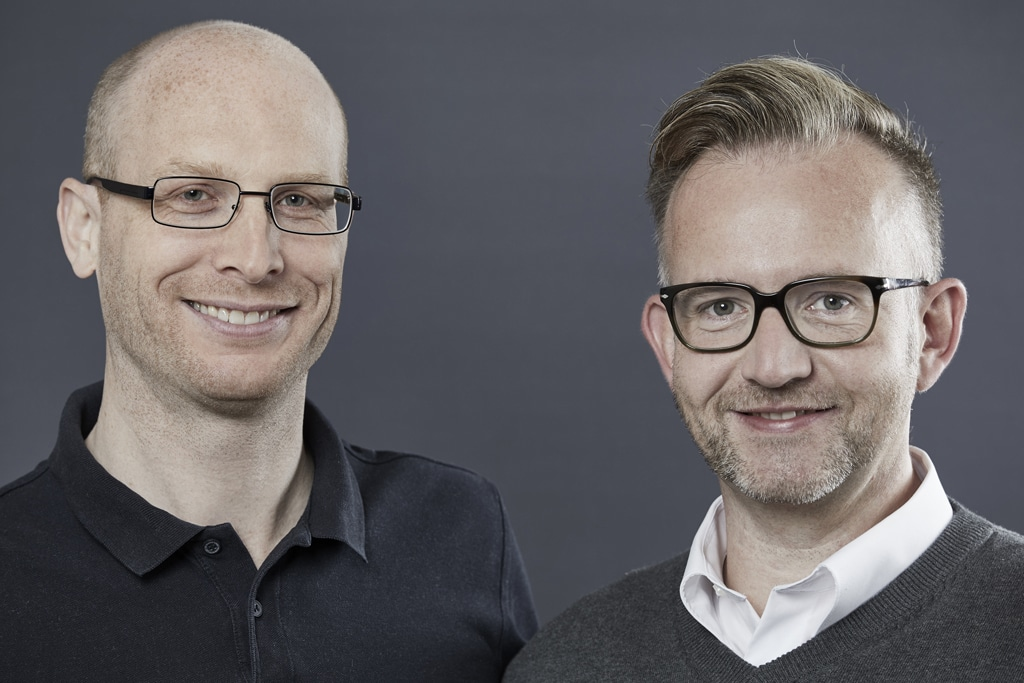 Gunnar Goebel und Jörg Hamacher
