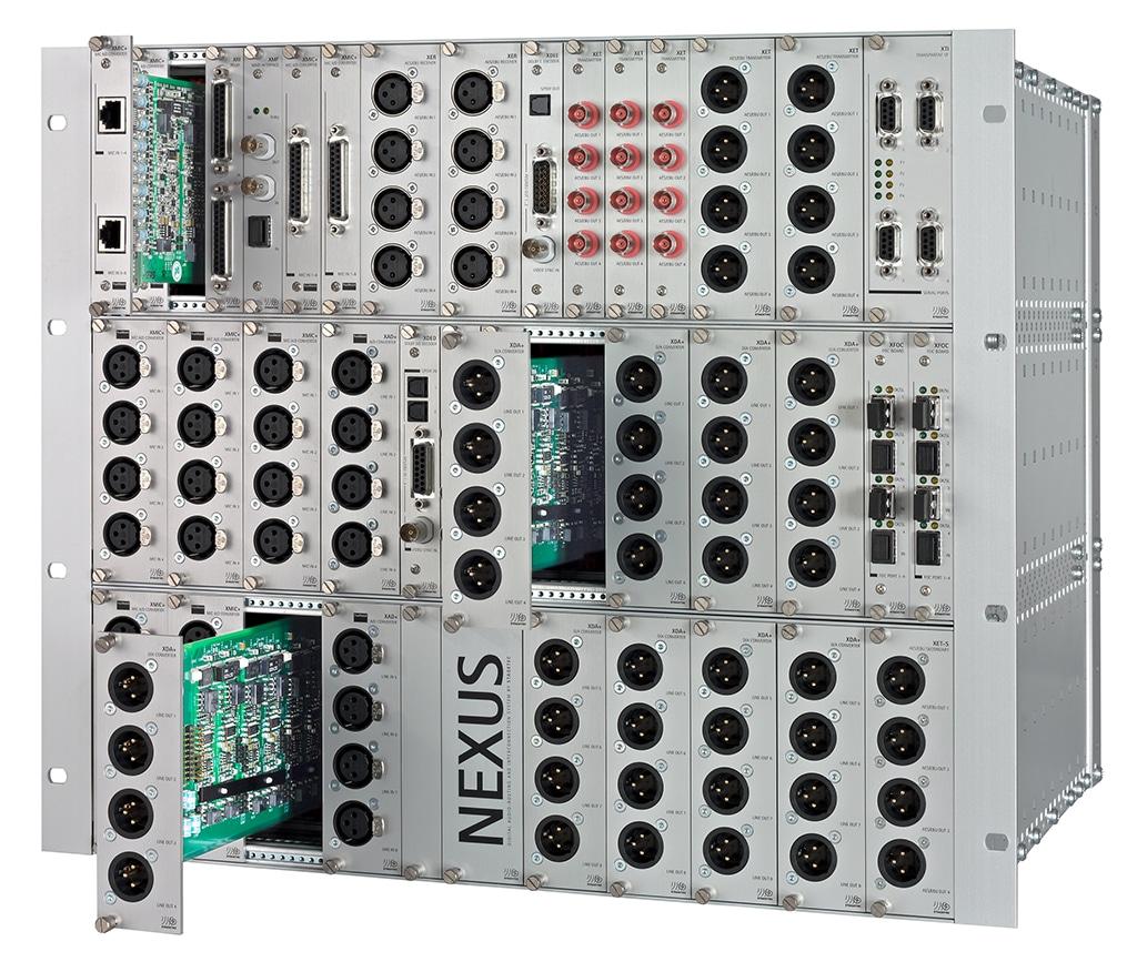 Audioroutingnetzwerk Nexus
