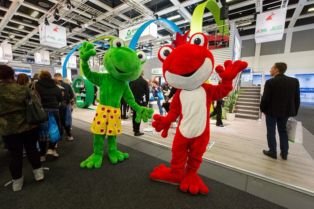 Mac und der Frosch nachhaltig auf der CMS in Berlin