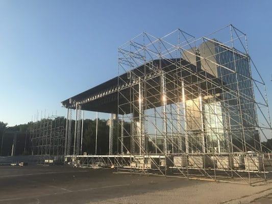 Aufbau MR5-Dach von Milos