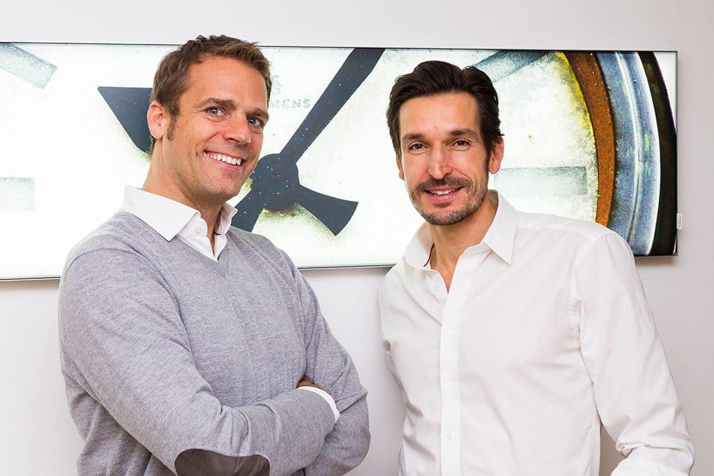 Pro Event-Geschäftsführer Jörn Huber (l.) und Alexander Fetzer