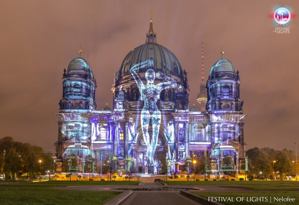 Digital Projection im Berliner Dom