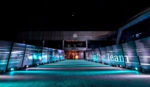 Mercedes-Benz F1 Celebration Event in Peking
