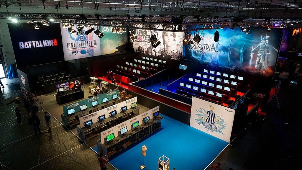 Technik von Gahrens + Battermann auf der Gamescom 2017