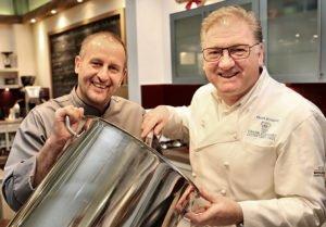 Rühren jetzt gemeinsam in einem Topf: Roger Achterath (l.) und Frank Schwarz.