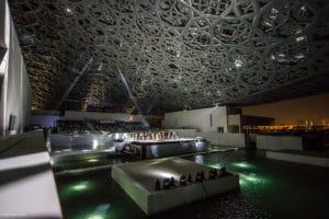 Eröffnungszeremonie des Louvre Museums in Abu Dhabi.