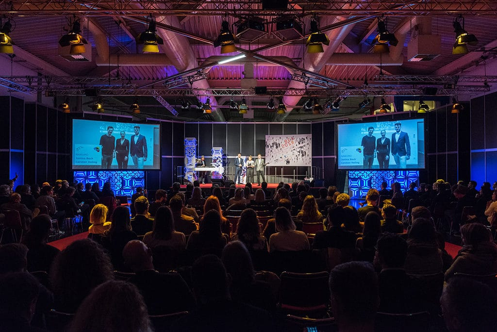 INA Award Verleihung auf der Best of Events 2018 in der Westfalenhalle Dortmund