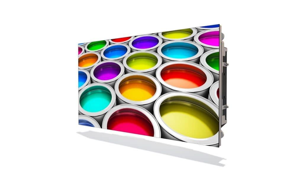 Mit der Apex 0,9 mm LED-Videowand lassen sich gängige Auflösungen auf kleineren Flächen darstellen.