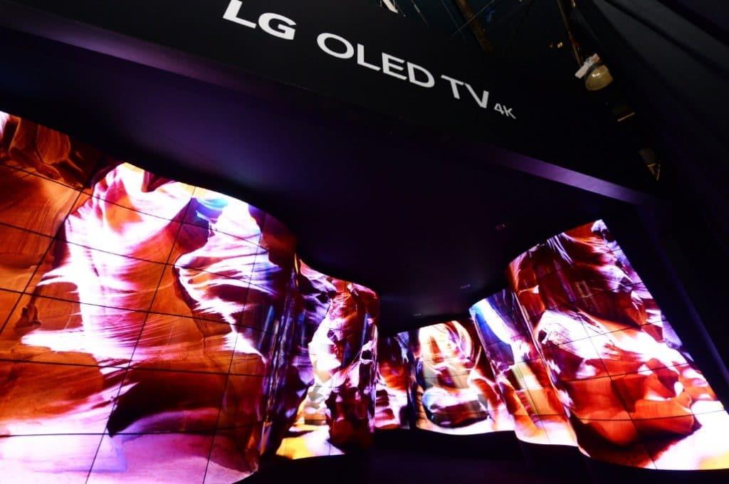 LG Open Frame OLED Displays