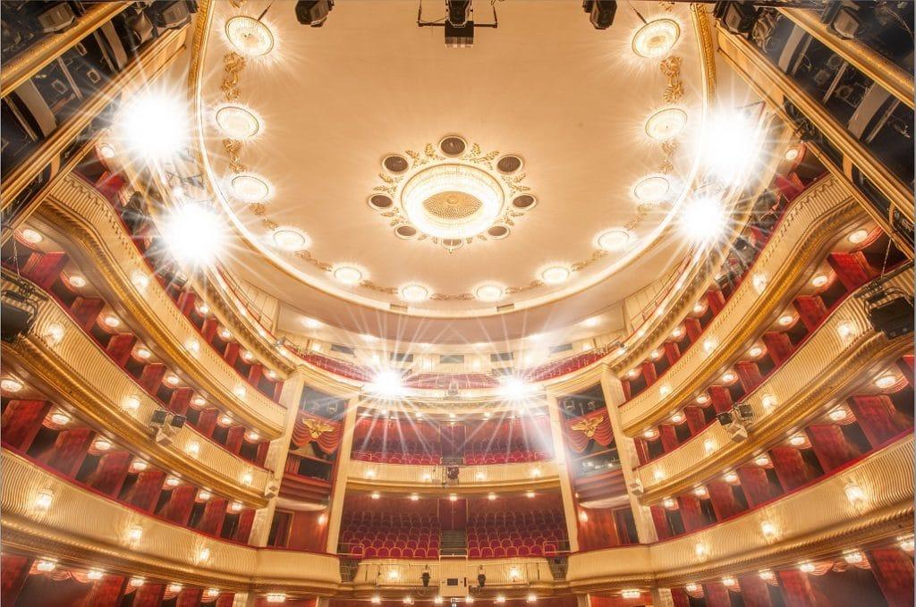 Eine der renommiertesten Bühnen der Welt: das Wiener Burgtheater