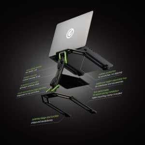 Laptop- und Controller-Ständer