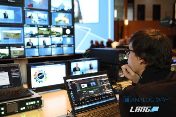LANG wird Analog Way Distributor