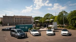 Mercedes Benz Grow Up Events unterstützt von Technikdienstleister Gahrens + Battermann
