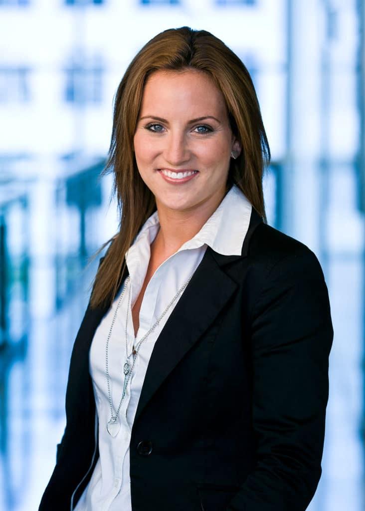 Von der Auszubildenden zur Personalchefin: Jennifer Hader.