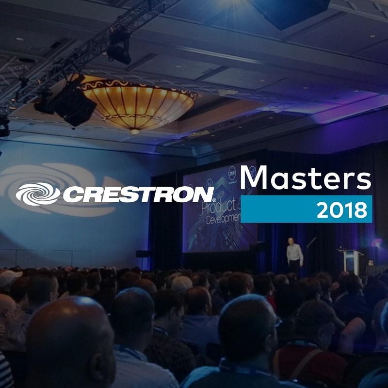 Crestron gibt Details zur Masters 2018 bekannt