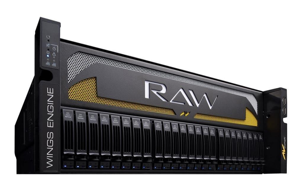 AV Stumpfl Wings Engine RAW 4K3 Server