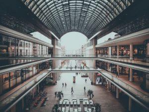 Einkaufsmall in Berlin