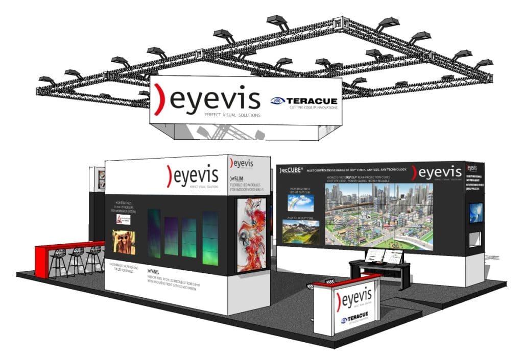 Eyevis Stand auf der ISE 2018