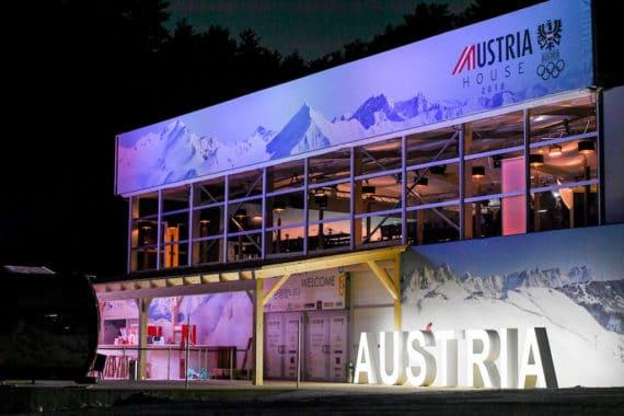 Olympische Winterspiele 2018, Austria House