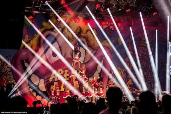 Gahrens + Battermann unterstützt Arena Alaaf