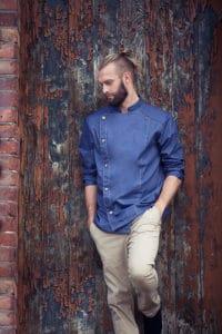 Kochjacke Jeans von Karlowsky Fashion