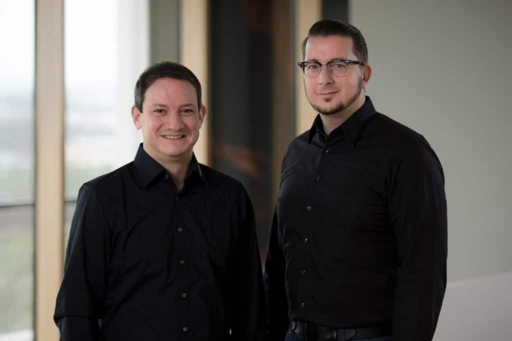 Michael Burg (li) und Marc Nesselhauf