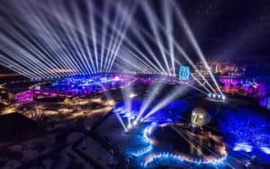 Überblick Swarovski-Lichtfestival 2018