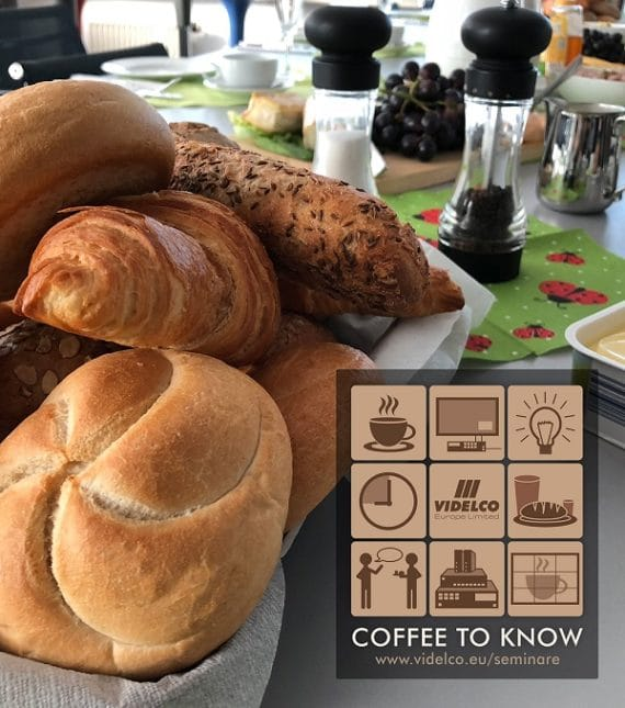 Coffee to Know Termine bei VIDELCO
