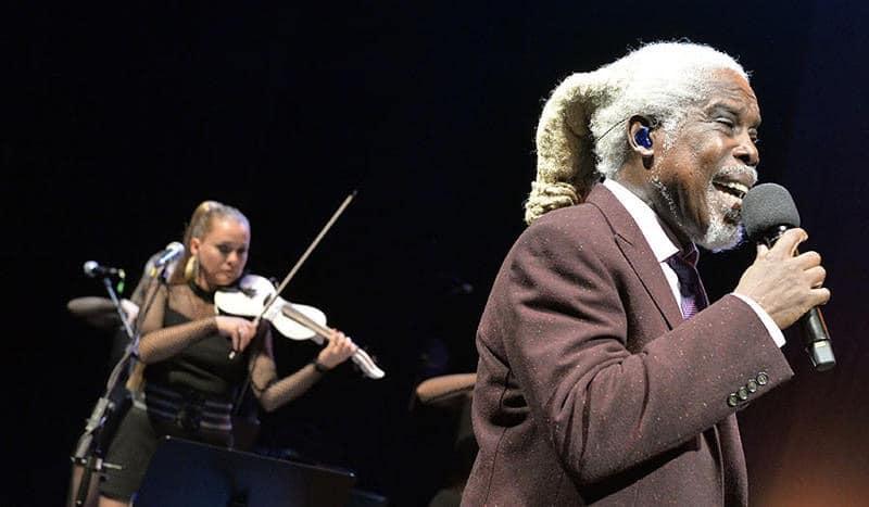 Billy Ocean mit dem Berlin Show Orchestra beim Leipziger Opernball
