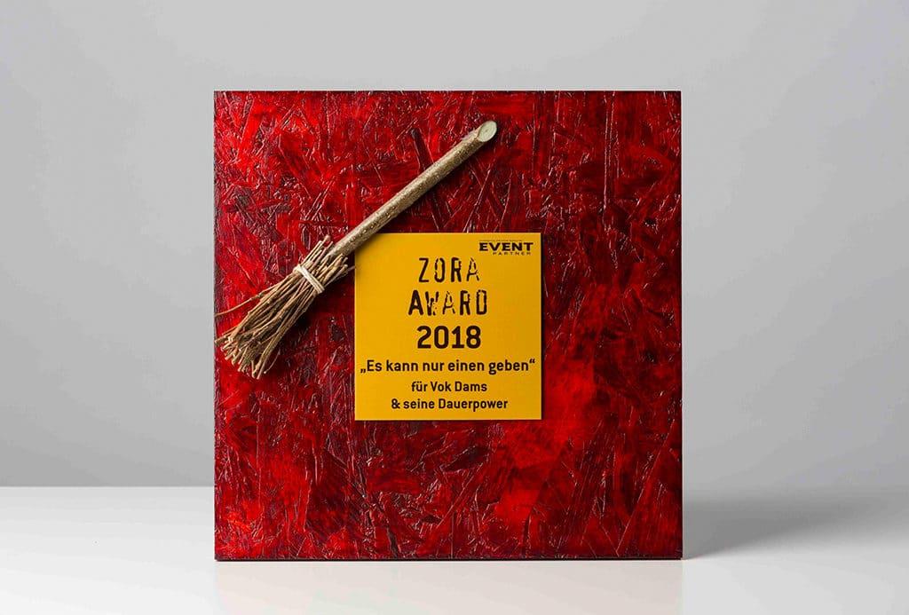 Zora Award 2018.
