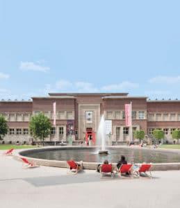 Museum Kunstpalast außen