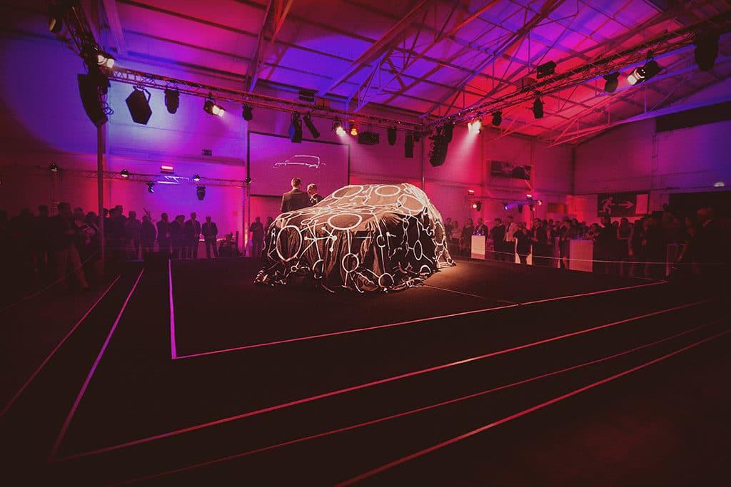 Eventmanagement für Porsche Cayenne Präsentation Karlsruhe von PINK Event Service
