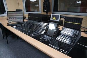 Audio-Setup beim NDR