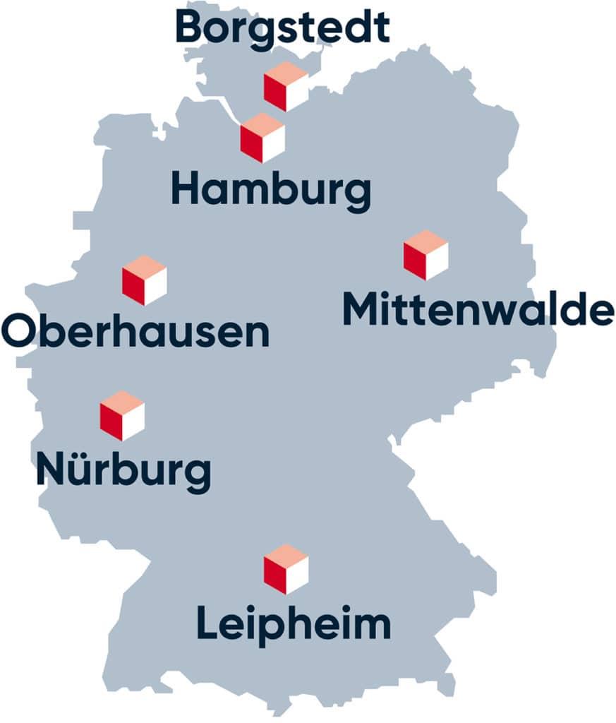 Sani baut sein Standortnetz in Deutschland aus.