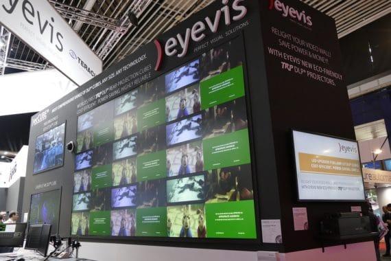 Auf der ISE 2018 präsentierte eyevis eine Reihe neuer Produkte.