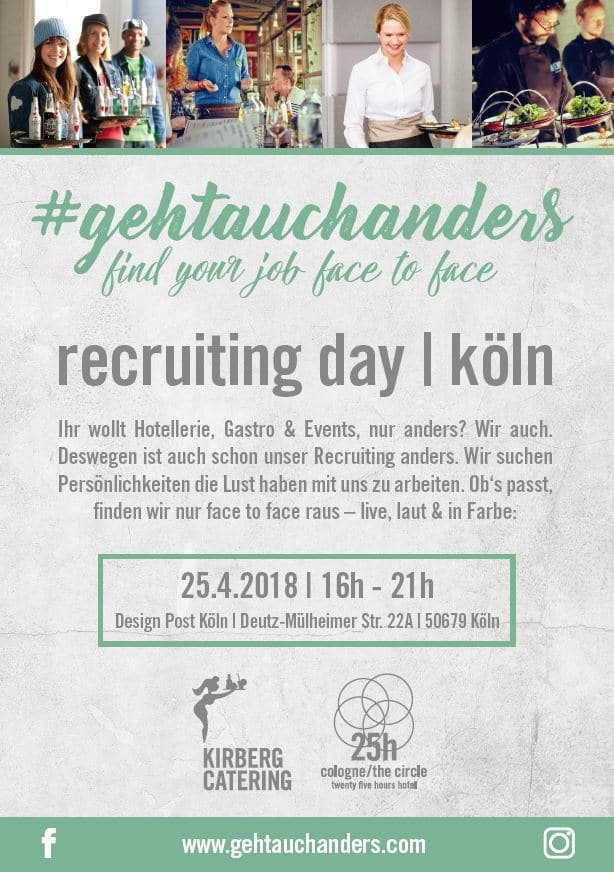 Kirberg Recruiting Day #gehtauchanders