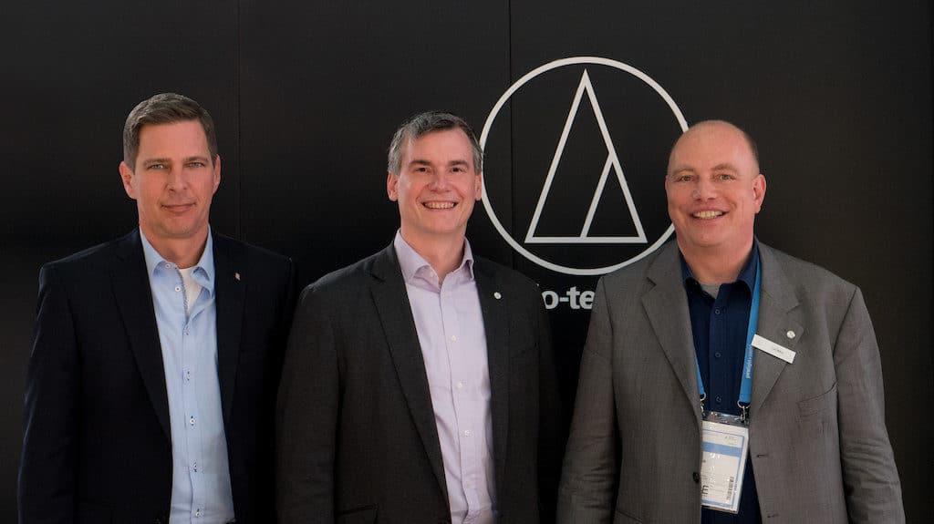 Markus Sinsel, Matthias Exner und Tom Mikus