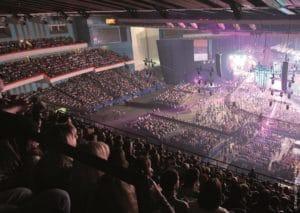 Eventhalle Publikum