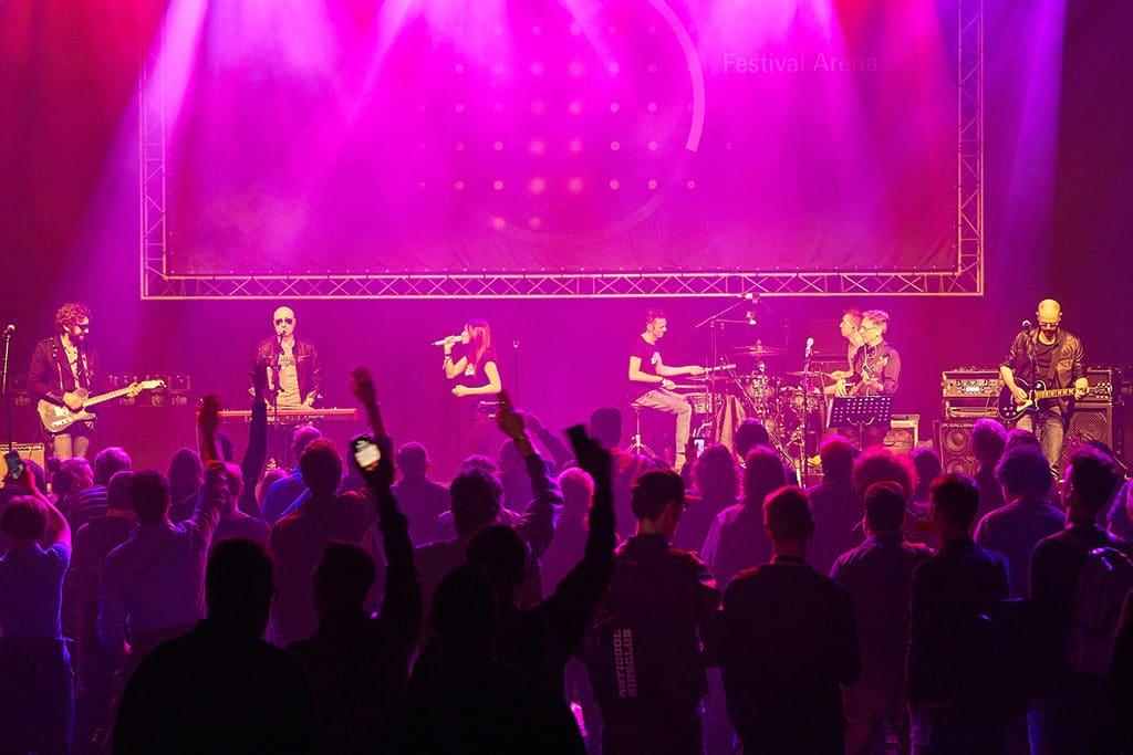 Impression von der Musikmesse und der Prolight+Sound 2018 in Frankfurt.
