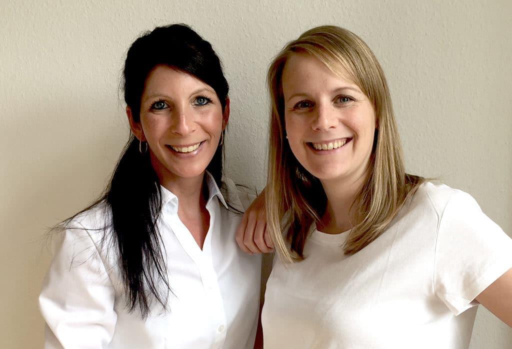 Neu im Team von Pure Perfection: Yvonne Rocker (l.) und Christina Schirra