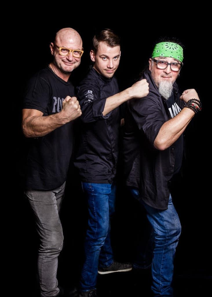Das Siegerfoto mit Thomas Karlowsky, Roland Pieber und Stefan Marquard (v.l.n.r.)