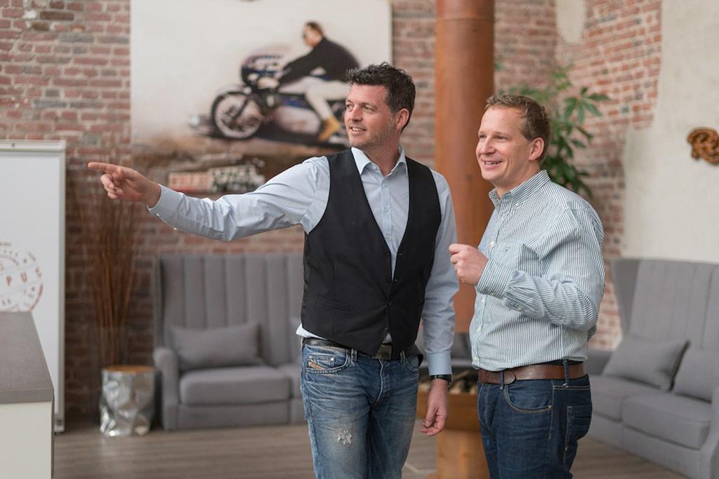 Björn Christoffer und Andreas Bauer