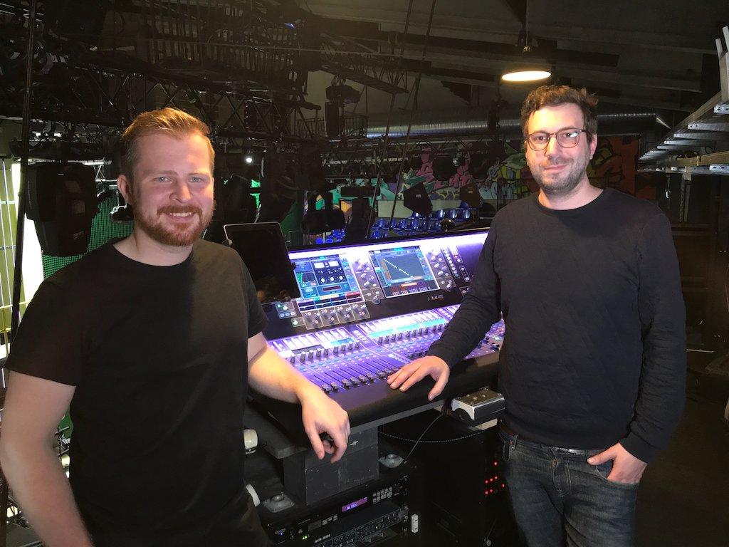 Dennis Schmidt (rechts) und Alexander Schoffer