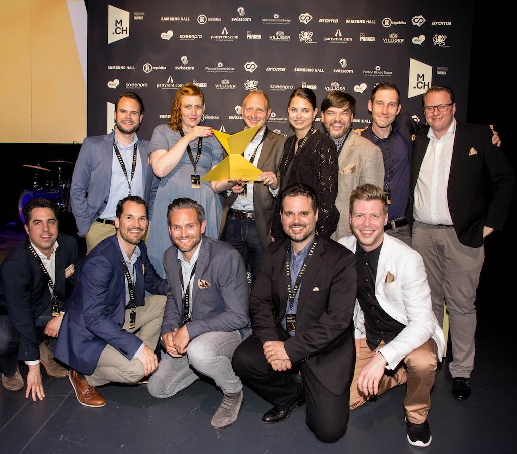 Habegger Gewinner-Team des Xaver-Award