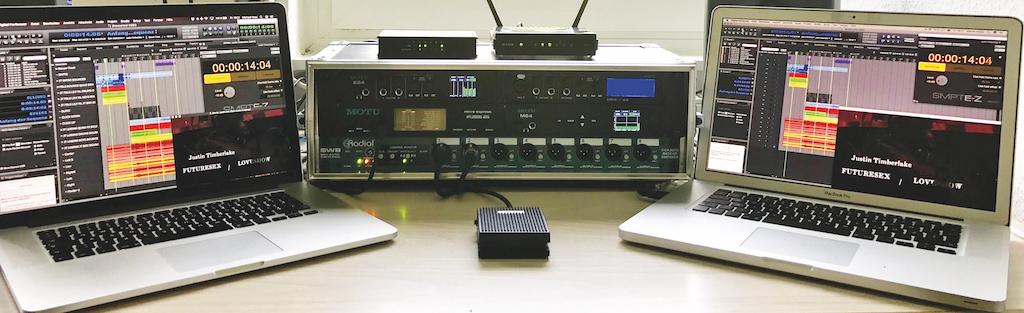 MOTU Show Control