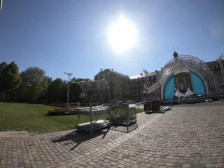 Rundbogenbühne von CreationPark beim Katholikentag 2018